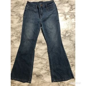 Chico's Jeans size 0 So Slimming Girlfriend Flare